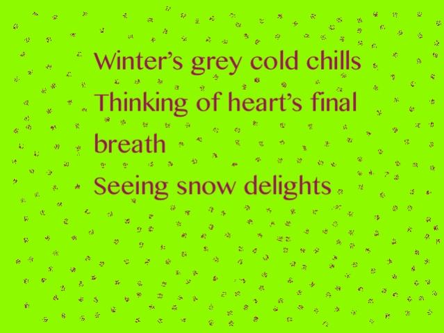 Wonder Haiku 69