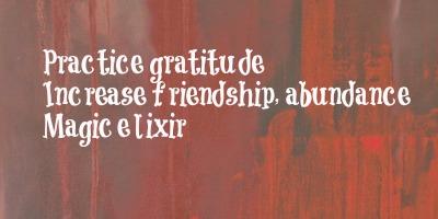 Gratitude 2 Haiku